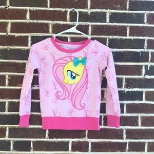 My Little pony sweatshirt, Sz Small 6-6x